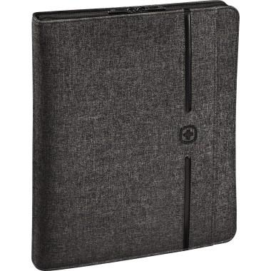 Schreibmappe Wenger Affiliate Nylon grau Maße: 28 x 35 x 5 cm (B x H x T)