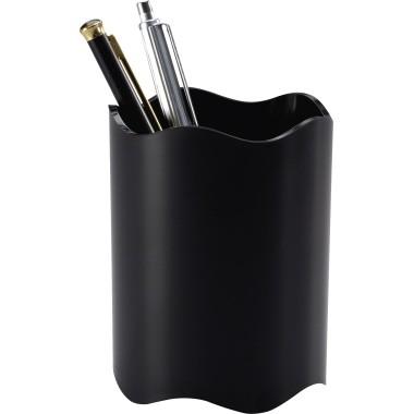 Stifteköcher Durable Trend rund 1 Fach schwarz Maße: 8 x 10,2 cm (Ø x H)