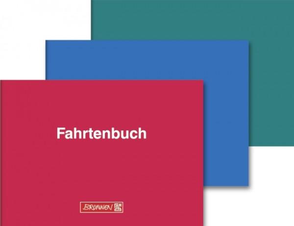 Brunnen Fahrtenbuch A6 quer 40 Blatt