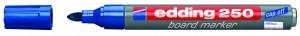 EDDING BOARDMARKER 250 BLAU 1.5-3MM NACHFÜLLBAR/BT30 / RUNDSPITZE