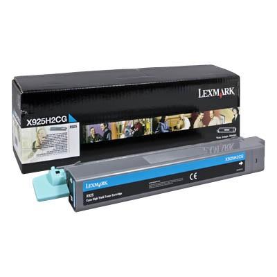 Lexmark Toner X925H2CG cyan Druckleistung ca. 7.500 Seiten