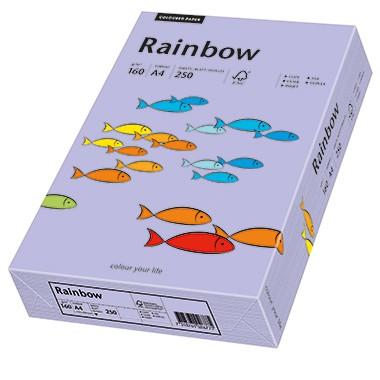 Kopierpap. A4 160g/m² violett (60) 250 Bl./Pack Rainbow Color