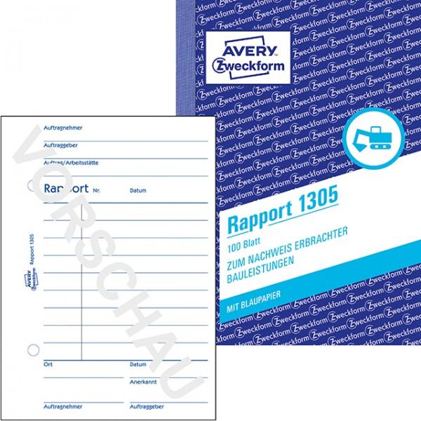 Zweckform Rapport A6 100 Blatt