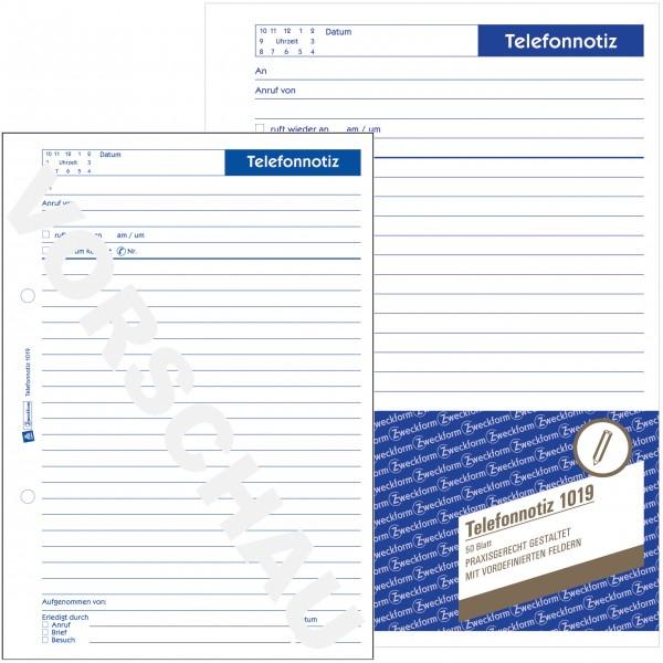Zweckform Telefonnotiz A5