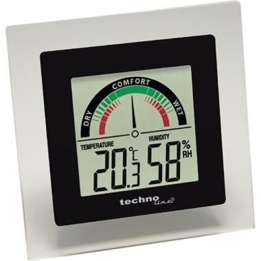 Thermometer technoline® WS 9415 digital Maße: 8,8 x 8,8 x 1,4 cm (B x H x T)