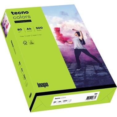 Kopierpap. A4 120g/m² leuchtendgrün (74) 250 Bl./P Tecno Colors 2100011351