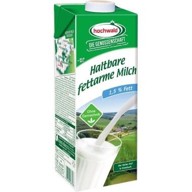 H-Milch Hochwald Fettgehalt 1,5% 1 Liter m.Laktose 12 St./Pack