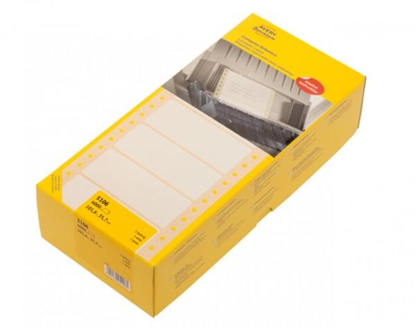 Edv-Etikett 101,6x35,7mm endlos 1bahnig 4000 St./Pack **Restposten, begrenzte Menge**