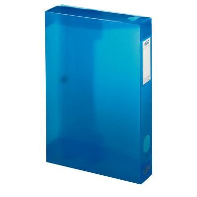 Sammelbox Polyvision A4 40mm Rückenbreite blau Füllmenge ca. 400 DIN-A4-Blätter