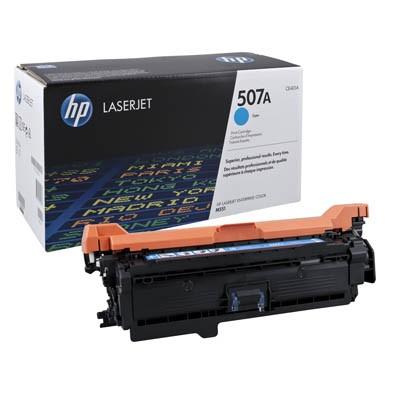 HP Toner CE401A cyan 507A Druckseiten ca. 6.000 Seiten Gr.1232