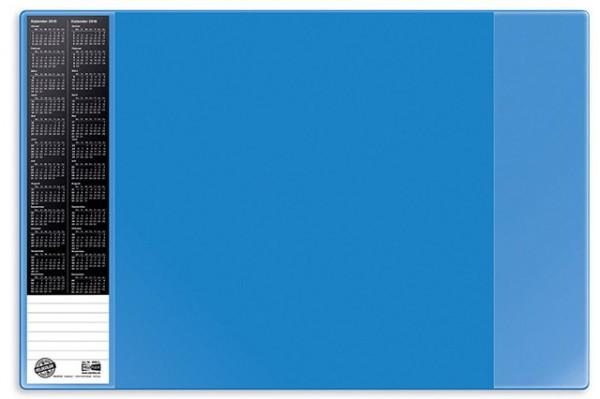 Schreibunterlage 60x40cm PVC Veloflex blau rutschfest , abwischbar VELOCOLOR