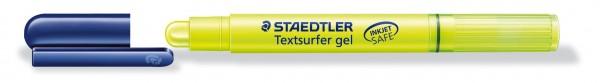 TEXTMARKER TEXTSURFER GEL GELB MIT GELARTIGER WACHSMINE