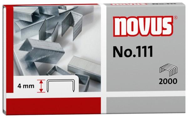 Heftklammern Novus 111 2000 St./Pack