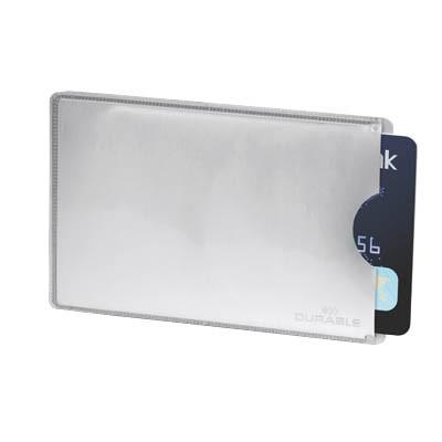 Kreditkartenhülle RFID SECURE silber