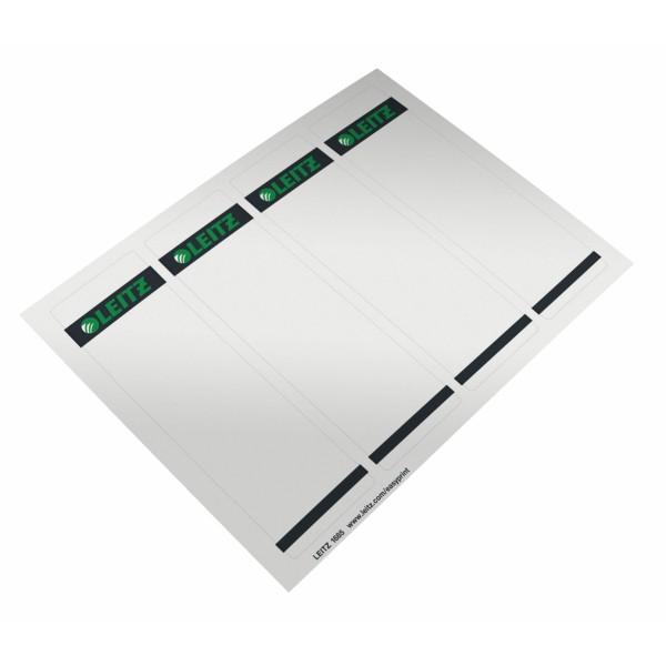 Rüschi f. 1080 kurz/breit grau 100 St./Pack Maße: 61,5 x 192 mm (B x H),selbstklebend