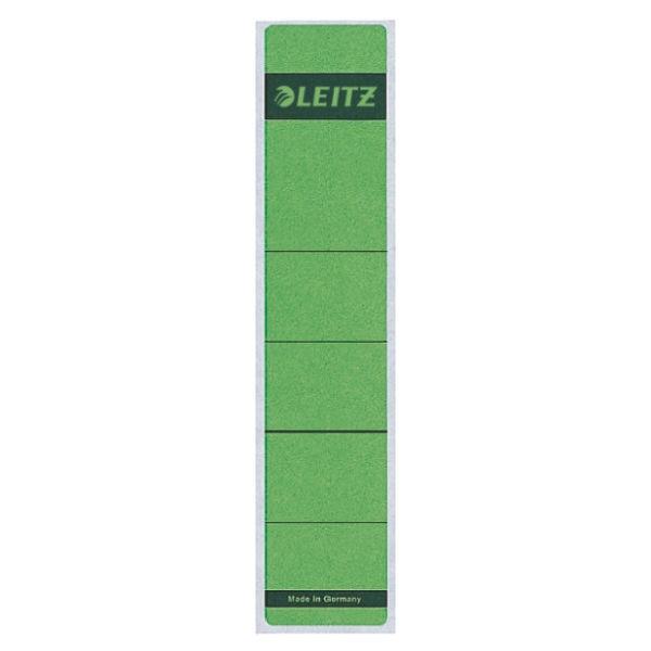 Rückenschilder f.1050 kurz/schmal grün 10 St./Pack Maße:39x192mm (B x H),selbstklebend