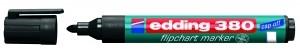 EDDING 380 FLIPCHARTMARKER 1,5-3MM SW SCHWARZ / RUNDSPITZE