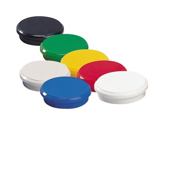 Magnete 24mm farblich sortiert 10St./Pack Dahle