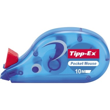 Tipp-Ex Korrektur Einweg Roller Pocket Mouse 4,2mmx10m , 8221362