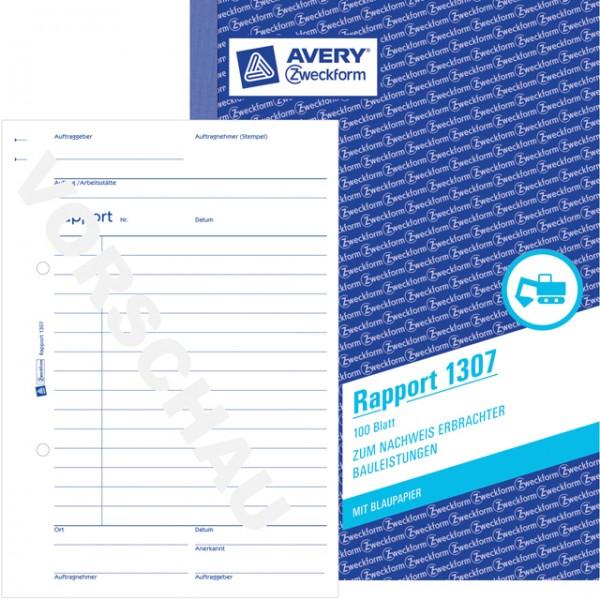 Zweckform Rapport A5 100 Blatt