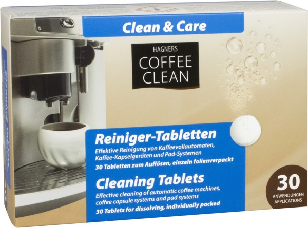 Reiniger Tabletten Coffee Clean 30 Stück Hagners Coffee Clean a 2,3 g