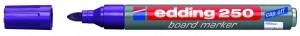 EDDING BOARDMARKER 250 LILA 1.5-3MM NACHFÜLLBAR/BT30 / RUNDSPITZE Inhalt 10 Stück