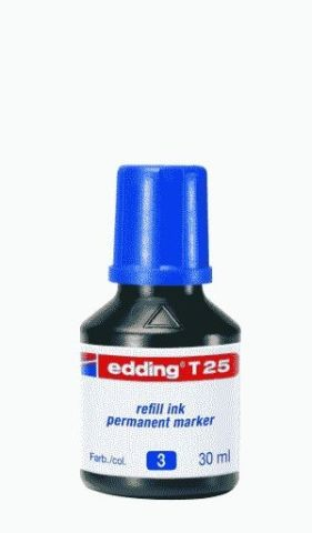 EDDING T 25 30ML BLAU