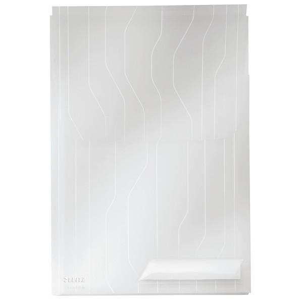 Hülle A4 Leitz CombiFile Maxi farblos 3 St./Pack PP Dicke der Folie: 0,20 mm , oben offen