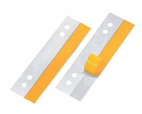 Veloflex HEFTFIX 10,5 cm lang PVC transparent selbstklebend , 100 St./Pack