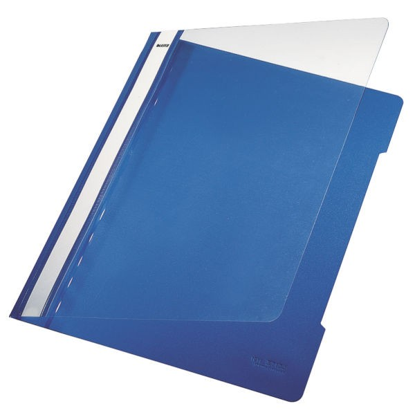 Schnellhefter A4 Leitz PVC blau Nr. 35