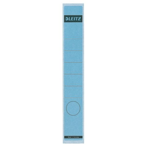 Rückenschilder f.1050 schmal/lang blau Format:39x285mm, 10 St./Pack