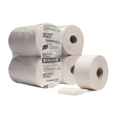 Toilettenpapier 2-lagig PERFORMANCE Mini Jumbo Maße:9,5cmx380m (B x L),474 Bl./Rl.,12 Rl./Pack