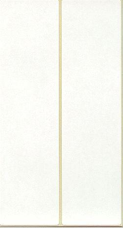 Etikett 163x43mm Frankier doppelt weiß 1000 Etiketten/Pack