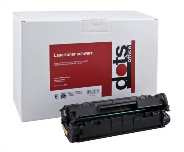 Lasertoner GR.1114 wie HP Q2612A schwarz Druckseiten ca. 2000 Seiten , dots rebuilt