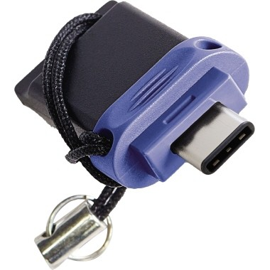 USB Stick Dual Verbatim 32 Gbyte blau