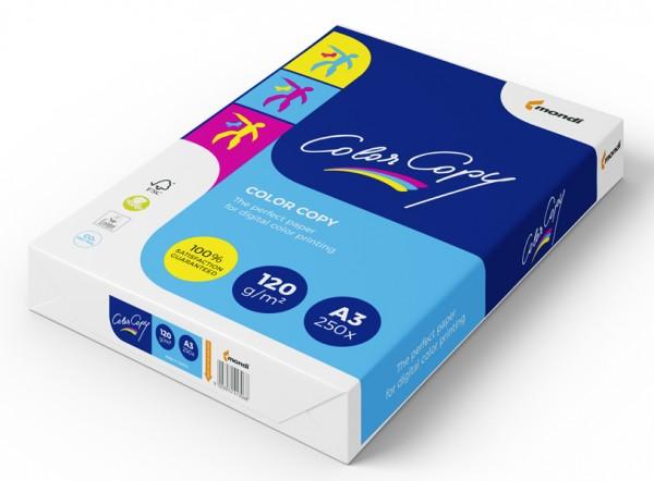 Kopierpap. A3 120gr. Color Copy weiß 250 BL./Pack Farblaserpapier/satiniert/ 210005117