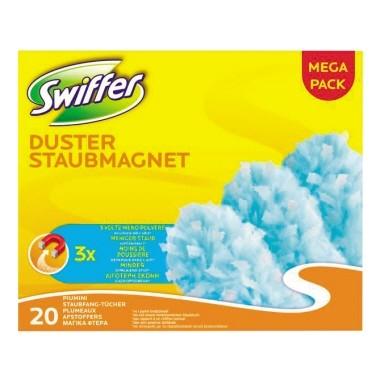 Staubtuch Swiffer Staubmagnet Nachfüllpack weiß 20 St./Pack / Duster