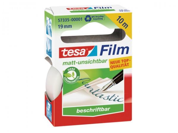 Tesafilm 10mx19mm matt-unsichtbar PP ablösbar kopierbar,lichtpausfähig,beschriftbar,reißfest