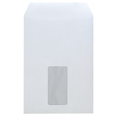 Versandtaschen C5 SK MF 90g/m² weiß 500 St./Pack , selbstklebend, 2944
