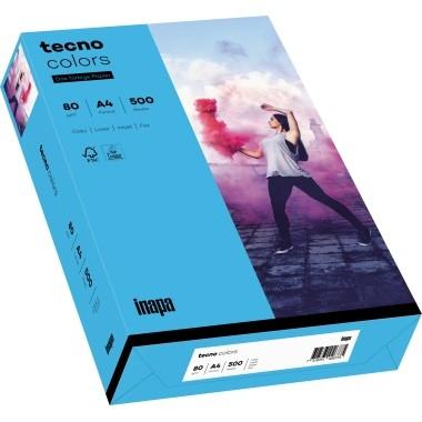 Kopierpap. A4 120g/m² blau (87) 250 Bl./Pack Tecno Colors 2100011334