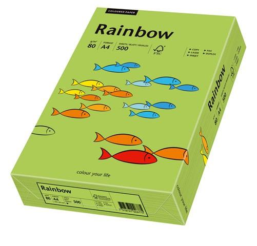 Kopierpap. A4 80g/m² grün (76) 500 Bl./Pack Rainbow Coloured