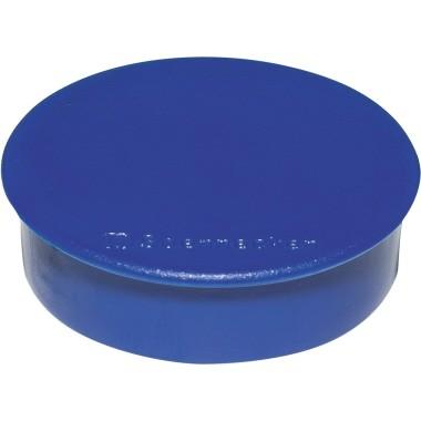 Magnete 38mm rund Tragfähigkeit 2,5 kg blau 10 St./Pack