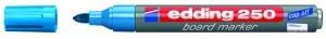 EDDING BOARDMARKER 250 HELLBLAU 1.5-3MM NACHFÜLLBAR/BT30 / RUNDSPITZE
