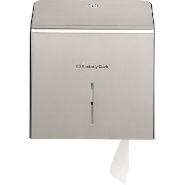Toilettenpapierspender Kimberly-Clark Jumbo Maße: 23,7 x 11,9 x 25,9 (B x H x T)