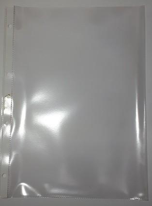 Prospekthüllen A4 oben offen Weichfolie Top Qualität , 100 St./Pack