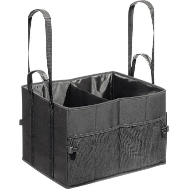 Shopper BigBox Wedo Polyester L schwarz Außenmaße: 45 x 30 x 35 cm (B x H x T)