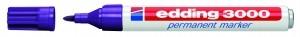 Edding 3000 Permanentmarkter violett Nr.08 Rundspitze Strichstärke 1-3mm