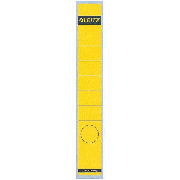 Rückenschilder f.1050 schmal/lang gelb Format:39x285mm, 10 St./Pack