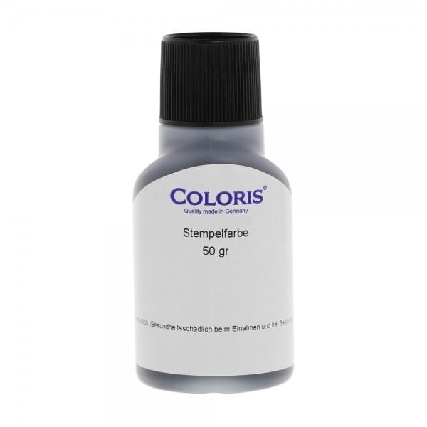 Spezialstempelfarbe Coloris 8081P weiss schnelltrocknend / 50gr.