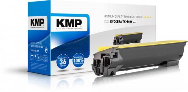 Lasertoner Gr.2886 kompatibel f. Kyocera TK-540Y Druckleistung ca.4.000 Seiten,KMP rebuilt